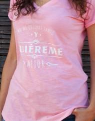 Camiseta Buentrato No me quieras tanto quiereme mejor