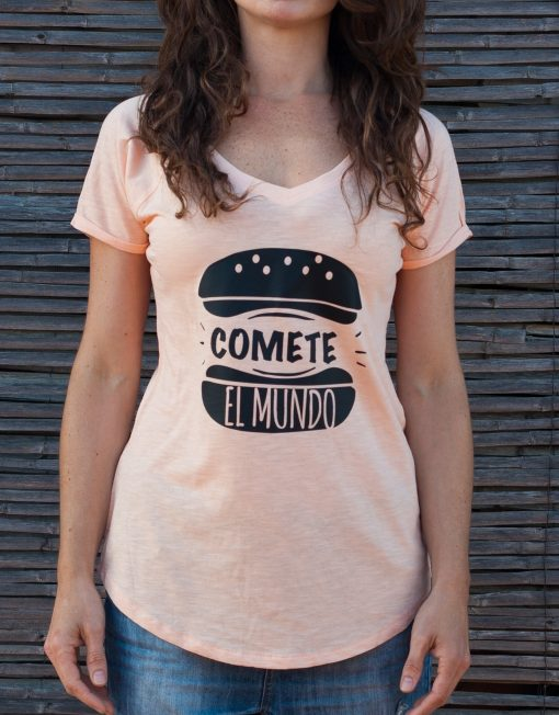 Camiseta Buentrato Cómete el mundo