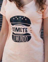 Camiseta COMETE EL MUNDO