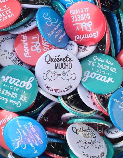 Chapas personalizadas para eventos y bodas