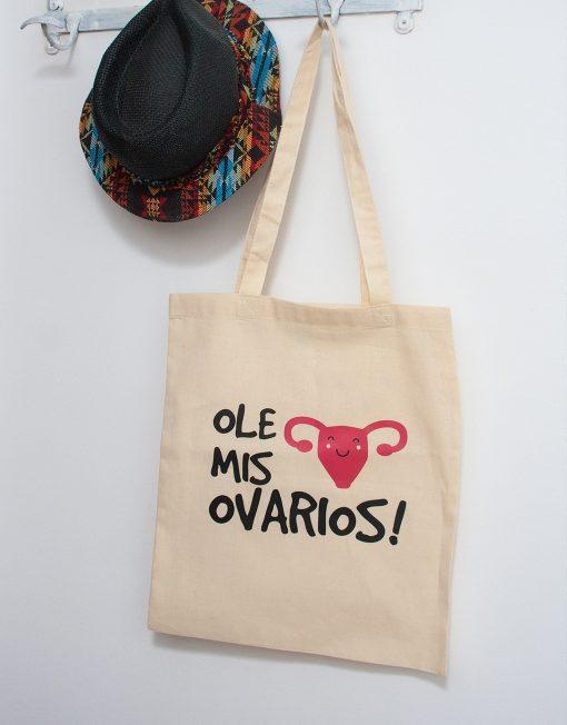 Bolsa de tela Buentrato Ole mis ovarios
