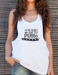 Camisetas Buentrato No me silbes no soy tu perro